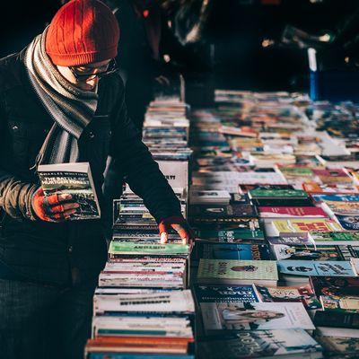 Browse the diverse stalls at Shepherd's Bush Market